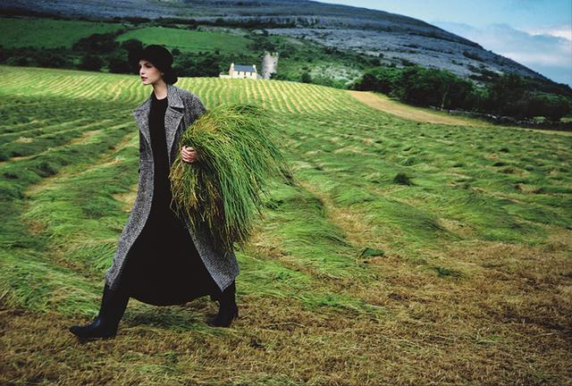 Arthur Elgort, 'Nadja Auermann, Ireland', 1993, Staley-Wise Gallery
