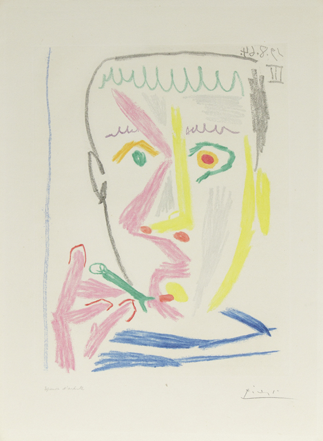 , 'Fumeur ,' 1964, Heather James Fine Art