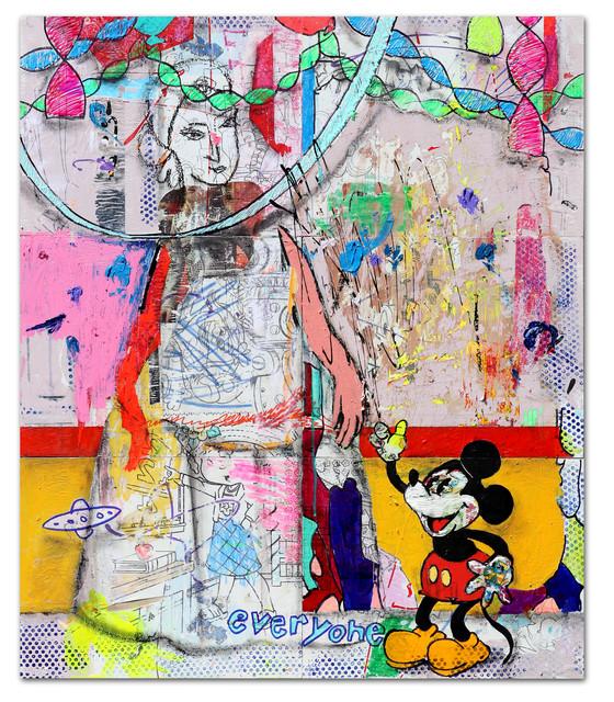 , 'Madre y Mickey,' 2019, 81 Leonard Gallery
