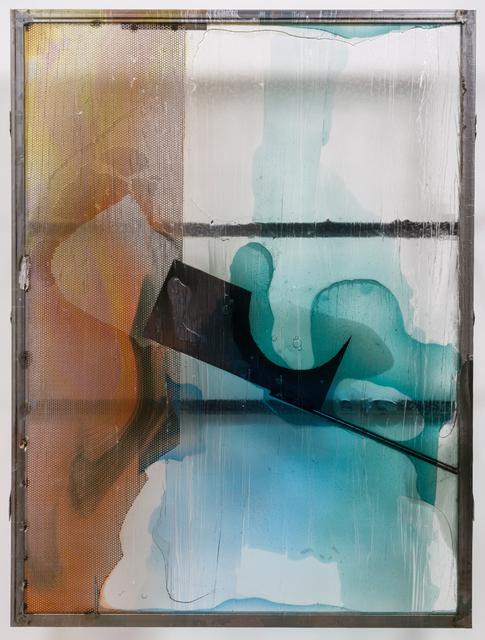 Neïl Beloufa, 'Chutes d'Atelier', 2015, François Ghebaly