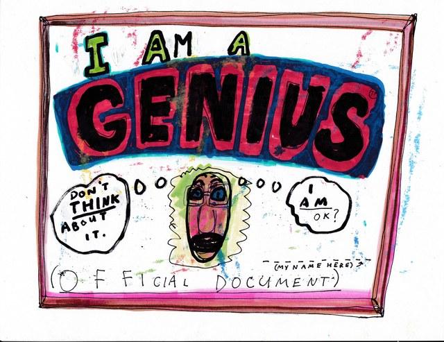 , 'Genius,' 2016, Lora Reynolds Gallery