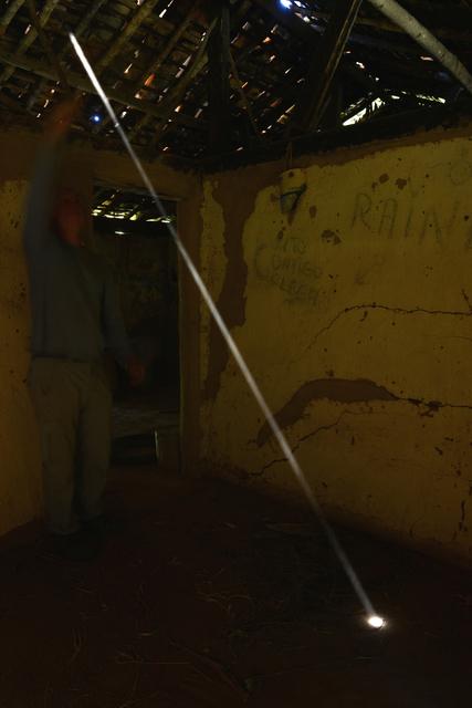 , 'Dust Swept and thrown to reveal a shaft of light Ibitipoca, Brazil 12 September 2014,' 2014, Galerie Lelong & Co.