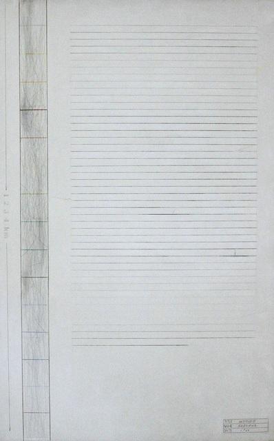 Shusaku Arakawa, 'Untitled', 1966, Robilant + Voena