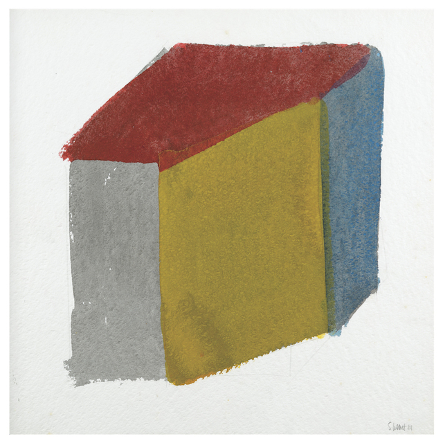 , 'Isometric Cube,' 1984, Leon Tovar Gallery