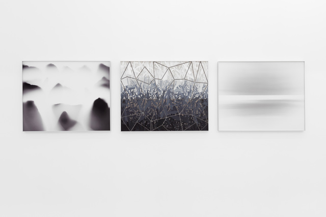, 'Mountains Softening + The Space Between + Ocean Deep,' 2019, Gallery MOMO