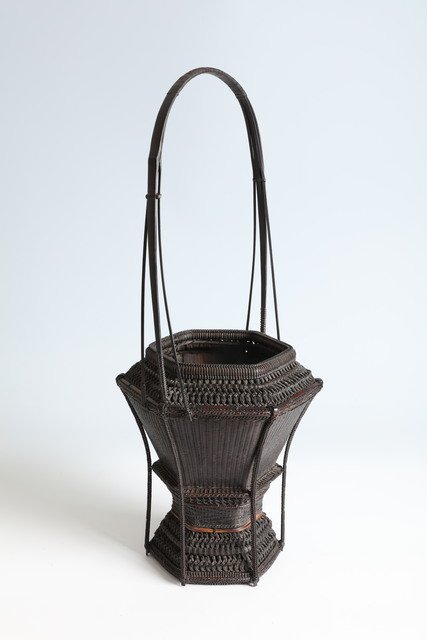 , 'Handled Hexagonal Flower Basket in Chinese Style (T-4286),' 1950-1980, Erik Thomsen