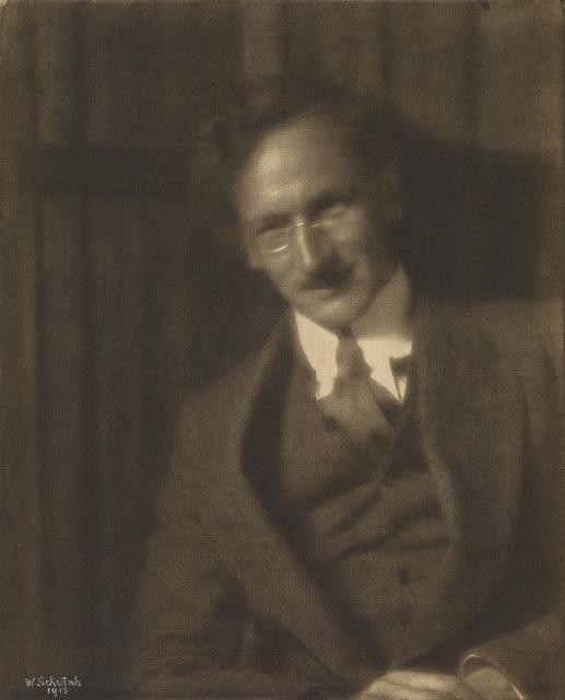 Wilhelm Schwind, 'Portrait of Heinrich Kühn', 1913, Swann Auction Galleries