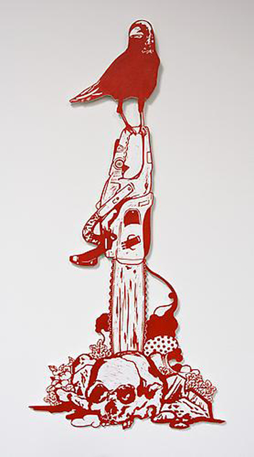 Kenichi Yokono, 'Skull, Chainsaw and Crow', 2009, Japigozzi Collection
