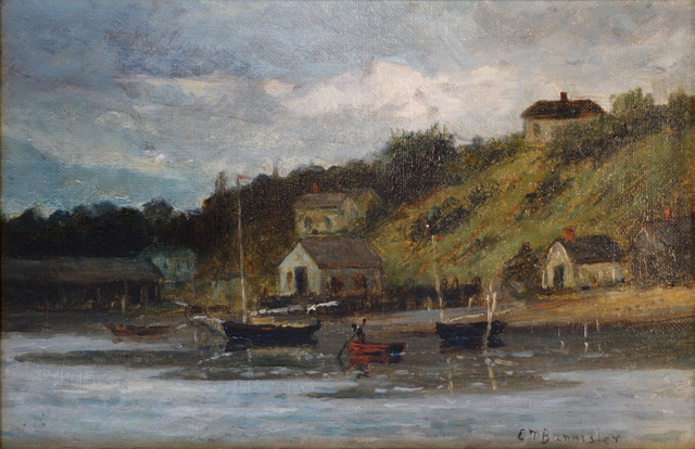 , 'Harbor View,' ca. 1890, Bill Hodges Gallery