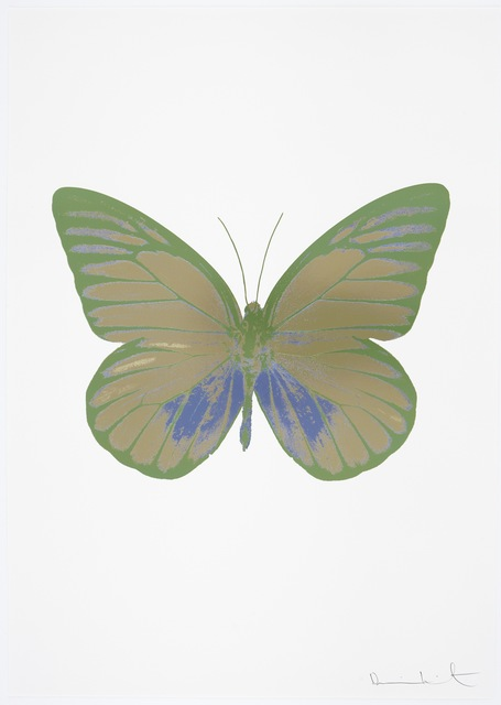 , 'The Souls I - Cool Gold - Cornflower Blue - Leaf Green,' 2010, Other Criteria