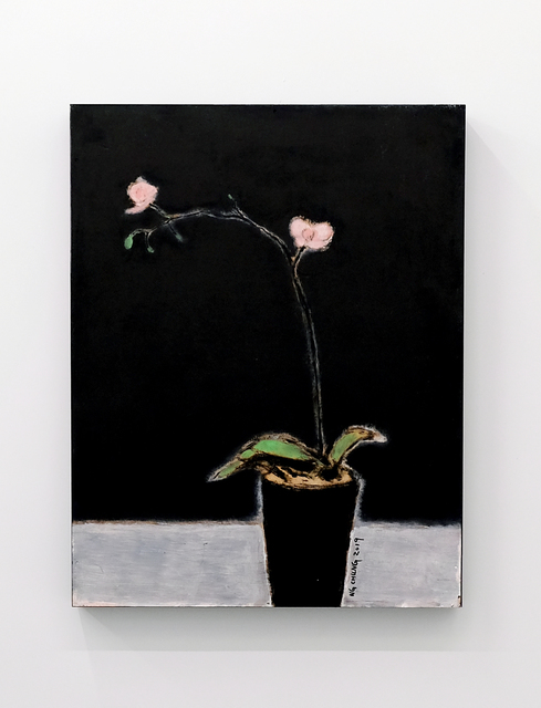 Ng Chung, 'Orchid', 2019, Painting, Oil on wood panel, Contemporary by Angela Li