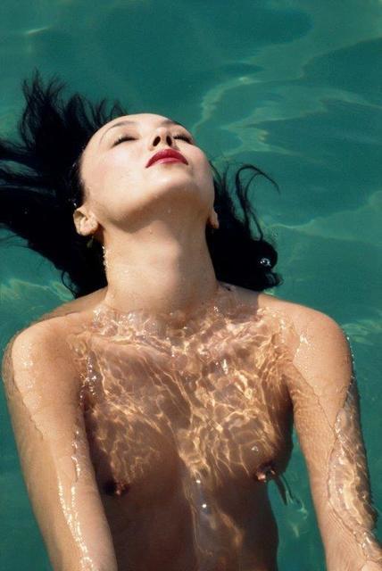 , 'Marie Bailey à la piscine d'Eden Roc, Cap d'Antibes,' 1977, Opiom Gallery