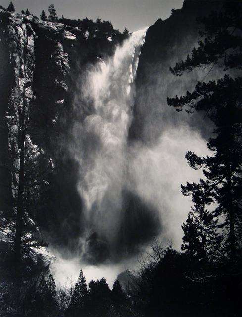 Ansel Adams, 'Bridalveil Fall, Yosemite National Park, California (Early Special Edition Print)', ca. 1960, Photography, Gelatin Silver Print, Weston Gallery