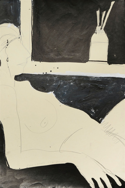 Joan Brown, 'Figure and Brushes', 1972, Anglim Gilbert Gallery