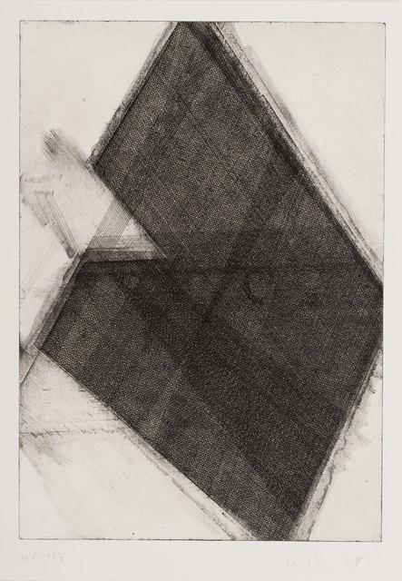 José Pedro Croft, 'Sem Título', 2013, Mul.ti.plo Espaço Arte