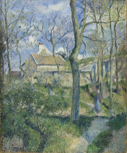 Camille Pissarro, 'The Path to Les Pouilleux, Pontoise', 1881, Los Angeles County Museum of Art