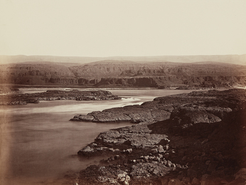 Carleton E. Watkins, 'The Passage of the Dalles, Columbia River,' 1867, Phillips: The Odyssey of Collecting