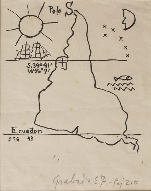 , 'América invertida (Inverted America),' 1943, The Museum of Modern Art