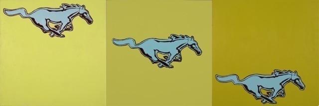 , 'Mustang,' 2009, Susan Eley Fine Art