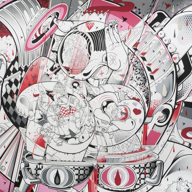 How & Nosm aka Raoul & David Perre, 'Storm Predictions', 2012, Julien's Auctions