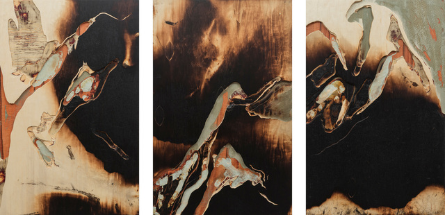 , 'The River in the Tree II (triptych),' 2015, Newzones
