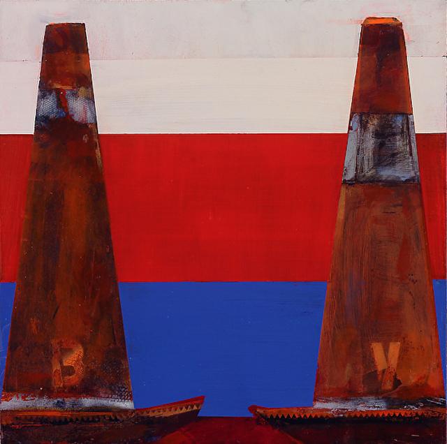 , 'Peace Cones: Debate '68 / Cautionary Tales ,' 2015, Andra Norris Gallery
