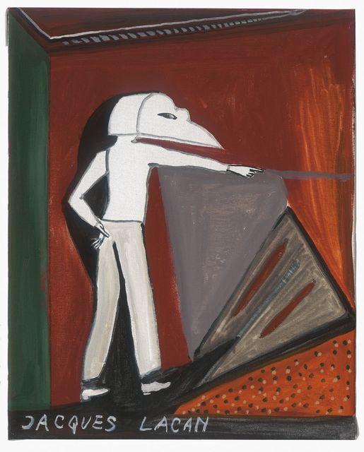 , 'Jacques Lacan,' 2016, MLF | MARIE-LAURE FLEISCH