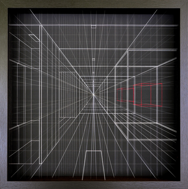 Paolo Cavinato, ' Interior Projection #19', 2018, The Flat - Massimo Carasi