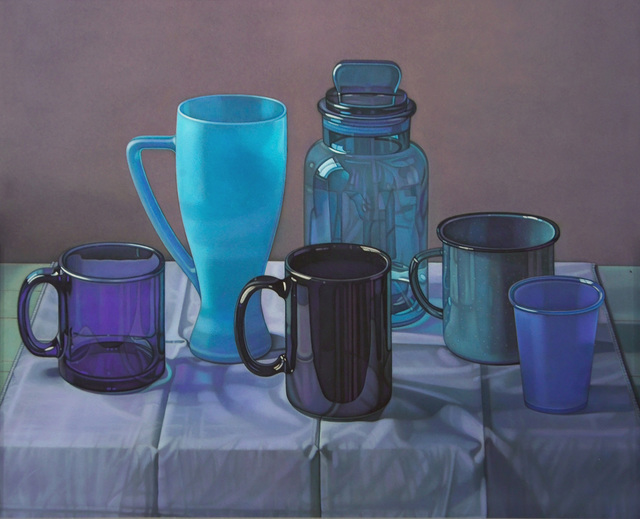 , 'Blue Cups,' 2006, Forum Gallery