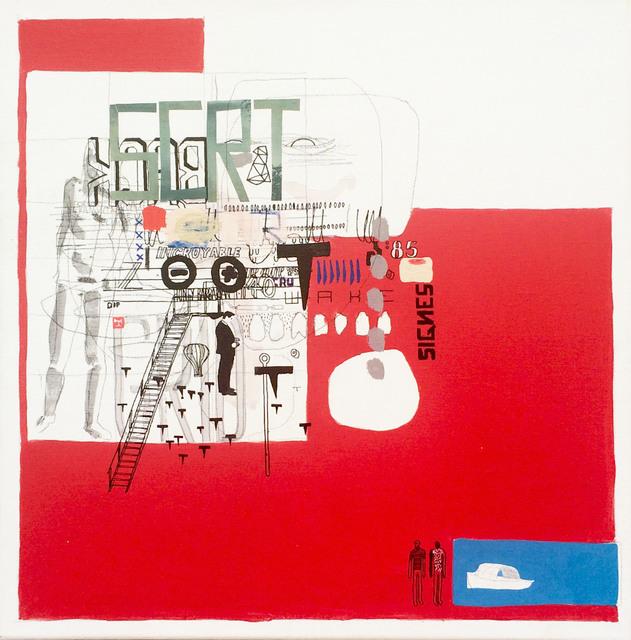 , 'SCRT,' 2016, Galerie Olivier Waltman | Waltman Ortega Fine Art