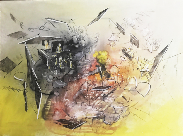 , 'Explosive Moment,' 1970, New River Fine Art