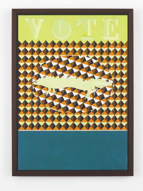 , 'Ballot Paper,' 2014, Hollybush Gardens