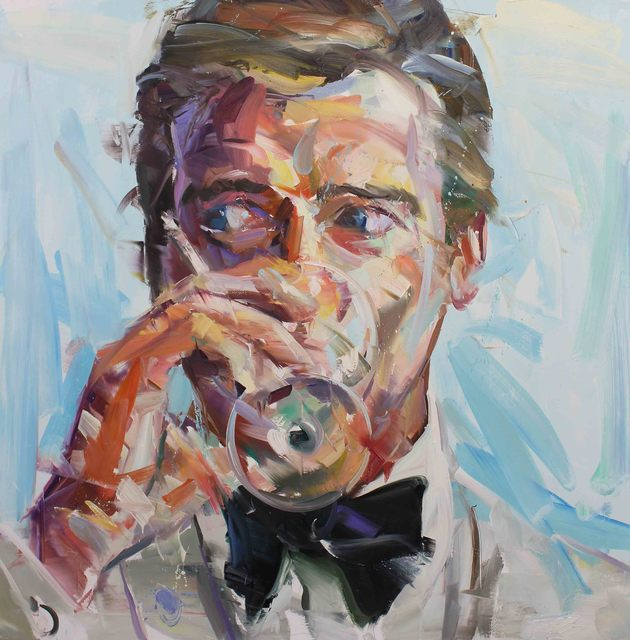 Paul Wright, '007 (Roger Moore) ', 2017, Maddox Gallery