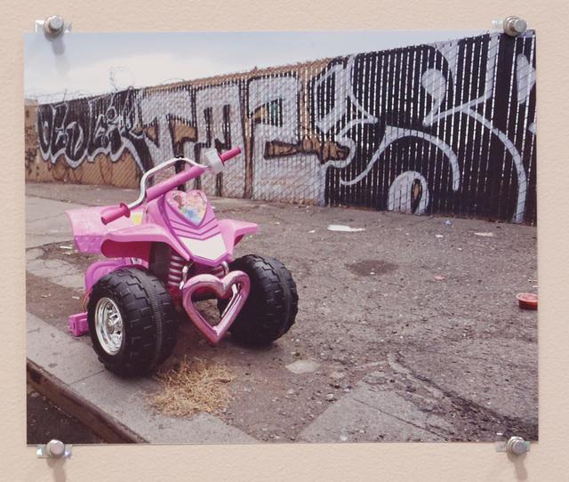 , 'Untitled (Pink Bike),' 2016, Diane Rosenstein