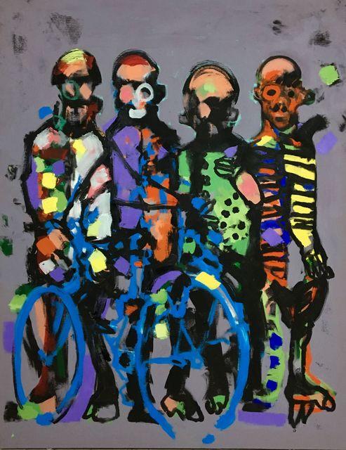 Cheikhou Ba, 'Antipodes', 2019, Kristin Hjellegjerde Gallery