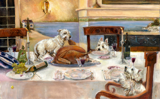 , 'Early to Dinner,' 2012, Dog & Horse Fine Art