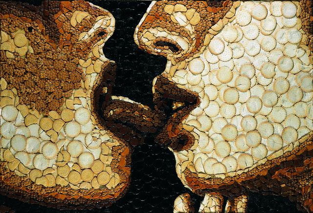 , 'Sweet Lizzies love to livk,' 2004, MAMAN Fine Art Gallery