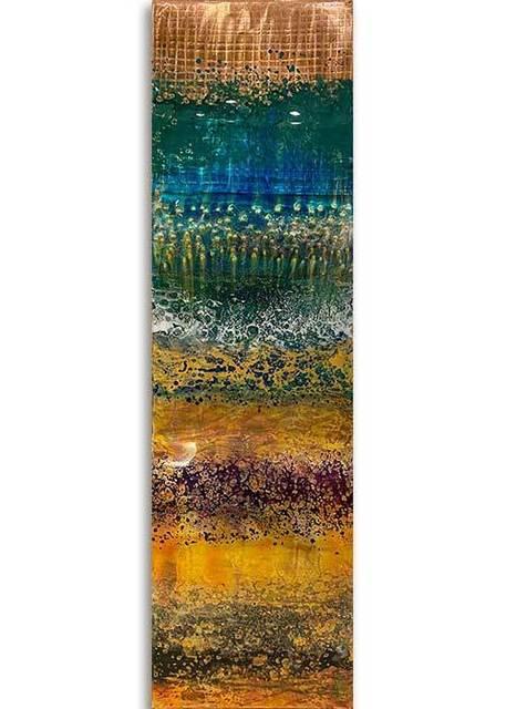 Ken Rausch, 'Rhythm Copper Series, Medium II', 2020, Sculpture, Mixed Media on Copper, Art Leaders Gallery