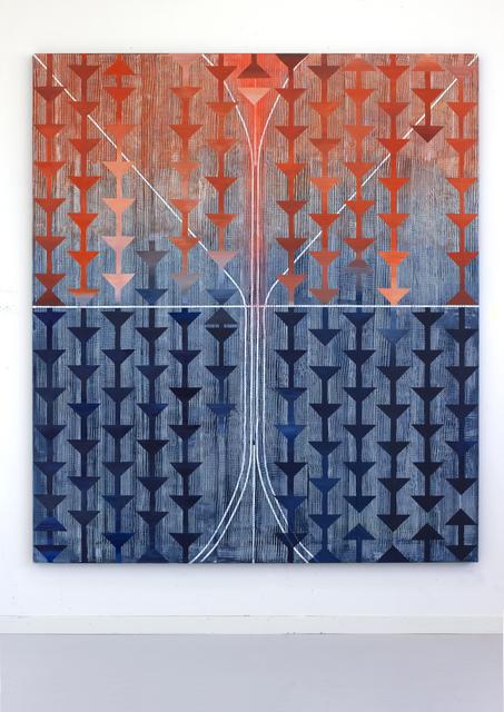 Alexandra Severinsson, 'Ridå (Curtain)', 2019, Painting, Acrylic on canvas, Alfa Gallery