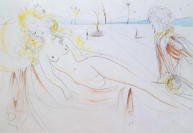Salvador Dalí, 'Venus et Le Joueur d'Orgue (Venus and the Organ-Player)', 1971, Graves International Art