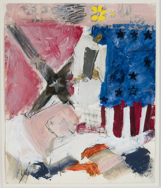 , 'Confederate Veteran Dying,' 1961, Paul Thiebaud Gallery