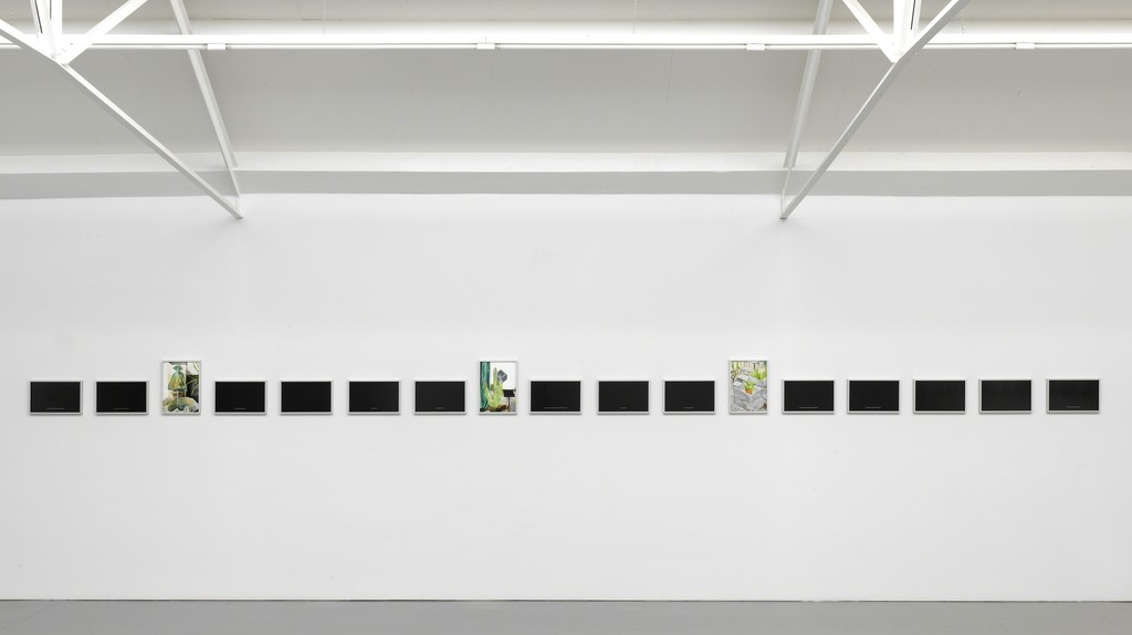 Juliette Blightman, 'Loved an Image', exhibition overview Galerie Fons Welters 2017. Photo: Gert Jan van Rooij