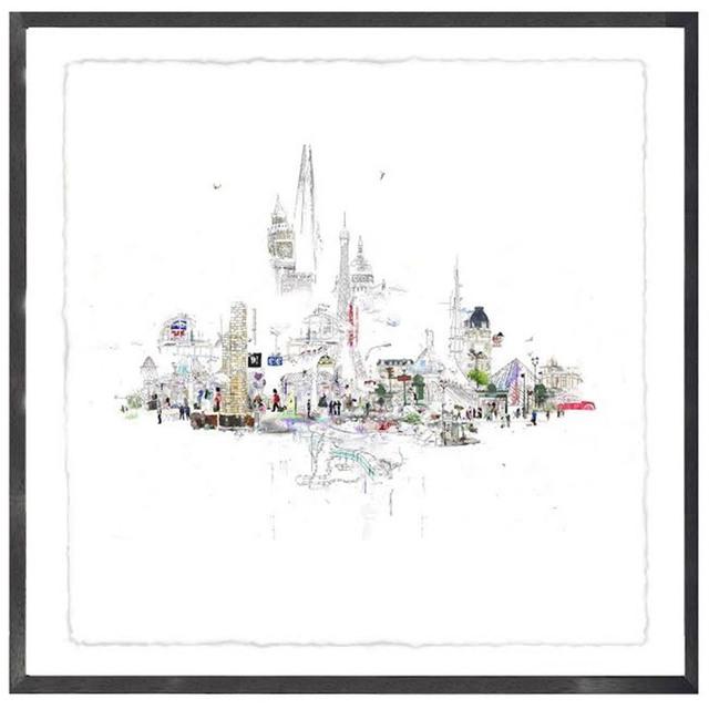 , 'Platform Nine and Three Quarters: London to Paris.,' 2016, Wychwood Art