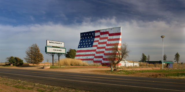 , 'Midway Drive-In; Quitque, Texas,' 2016, Clark Gallery