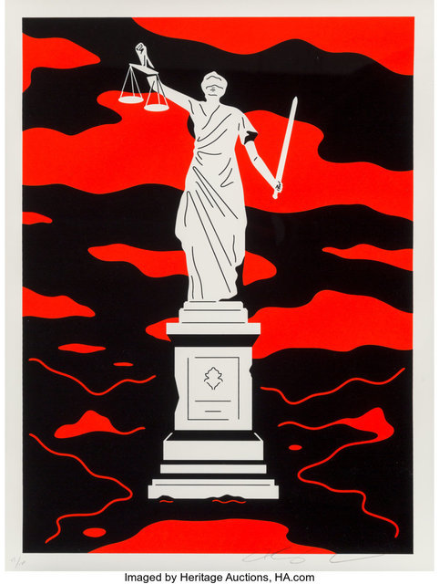 Cleon Peterson, 'Monument to Power, Law (First Edition)', 2019, Heritage Auctions