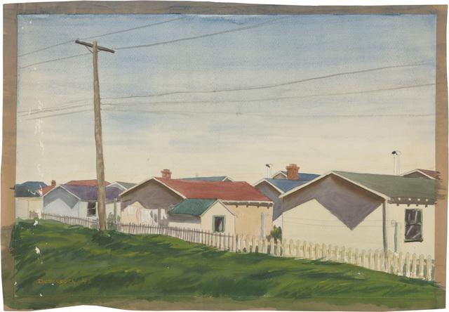 , 'Untitled,' 1943, Richard Diebenkorn Foundation