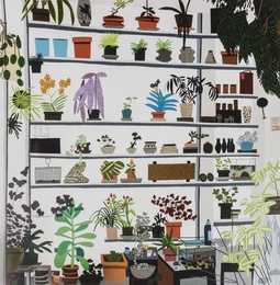 Large Shelf Still Life 2017