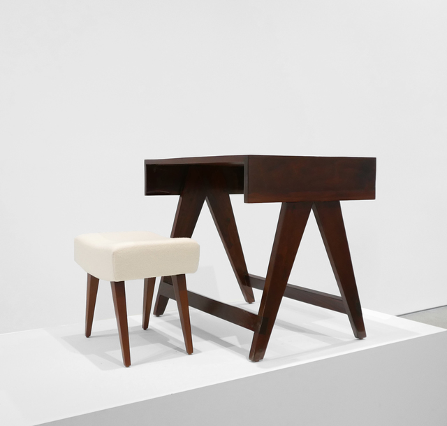 , 'Desk & Stool from the City of Chandigarh, India,' 1950-1959, Peter Blake Gallery
