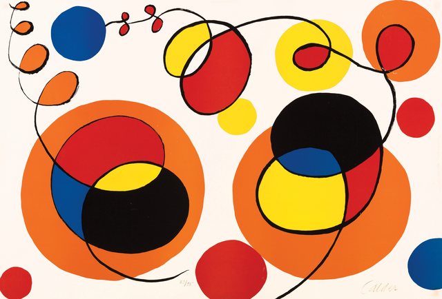Alexander Calder, 'Loops and Spheres, 53/95', XX Century, Findlay Galleries