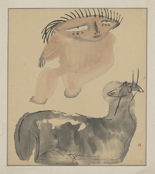 , 'The Tibet Series XI 西藏组画之十一,' 1984, Ink Studio